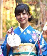 東京・乃木神社で成人式を行った斎藤ちはる (C)ORICON NewS inc.