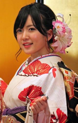 「AKB48グループ成人式記念撮影会」に参加したNMB48の須藤凜々花 (C)ORICON NewS inc.