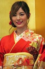 「AKB48グループ成人式記念撮影会」に参加したSKE48の松井珠理奈 (C)ORICON NewS inc.