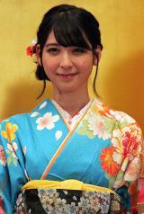 「AKB48グループ成人式記念撮影会」に参加したHKT48の松岡菜摘 (C)ORICON NewS inc.