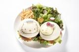 『ハローキティとディアダニエルのラブラブバーガー』(税込価格:ダブル2280円)