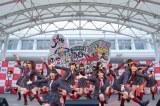 1月9日に万代シテイパークで行われた「NGT48劇場一周年記念 フライングLIVE〜ありがとう一年!飛び出せ劇場!あなたに見てほしい!今、NGT SP〜チームNIII ver.」(C)AKS