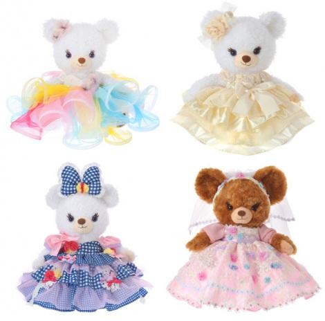 1月21日から2月28日までのキャンペーン期間に購入すると抽選でもらえる「THE HANY WEDDING デザインドレス(1着)」(A賞)/(C)Disney