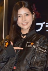 AKB48の阿部マリア=プレミアムバーガーレストランチェーン『Carl's Jr.』ブランドPR大使就任式 (C)ORICON NewS inc.