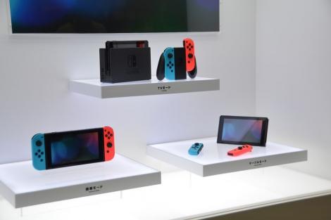 3月3日に発売される「Nintendo Switch」。価格は税抜29980円 (C)oricon ME inc.