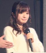 結婚発表後、初めて公の場に登場した紺野あさ美アナウンサー (C)ORICON NewS inc.