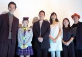 (左から)三浦誠己、杉山優奈、吉沢悠、小西真奈美、原日出子、榊英雄監督 (C)ORICON NewS inc.