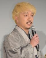 映画『本能寺ホテル』初日舞台あいさつに出席した濱田岳 (C)ORICON NewS inc.