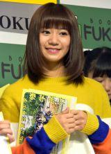 今年のエビ中の目標は「日本で一番有名な中学生になることと、中学生として日本の歴史に名を残す」と宣言した星名美怜 (C)ORICON NewS inc.