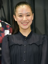 映画『アズミ・ハルコは行方不明』のトークイベントに出席した蒼井優 (C)ORICON NewS inc.
