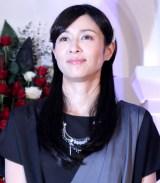 ドラマ『奪い愛、冬』の記者発表会に出席した水野美紀 (C)ORICON NewS inc.