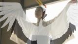 鶴の化身の映像表現にも注目(C)NHK