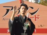 映画『アサシンクリード』の大ヒット祈願イベントに登壇した斎藤工 (C)ORICON NewS inc.
