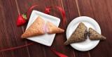 マクドナルドの「三角チョコパイ」シリーズに苺が仲間入り