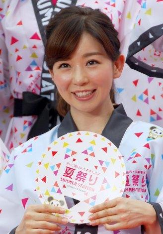 夏祭りな松尾由美子