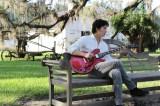 ジャズの歴史を追うため米ニューオーリンズを訪れた福山雅治(C)NHK
