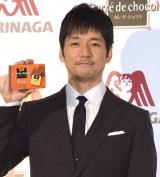 『気配りチョコ』記者発表会に出席した西島秀俊 (C)ORICON NewS inc.
