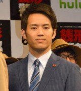 ドラマ『銭形警部』完成披露試写会&舞台あいさつに登壇した三浦貴大 (C)ORICON NewS inc.