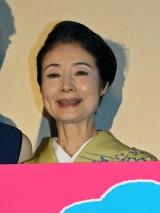 映画『恋妻家宮本』公開初日舞台あいさつに登壇した富司純子 (C)ORICON NewS inc.