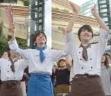 ドラマ『グ・ラ・メ!』presents 夏祭りスペシャルイベントに出席した高橋一生、剛力彩芽 (C)ORICON NewS inc.