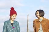 『笑う招き猫』で漫才コンビを演じる清水富美加(右)と松井玲奈 (C)山本幸久/集英社・「笑う招き猫」製作委員会
