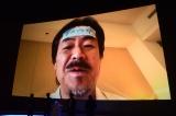 インフルエンザのためビデオメッセージでの参加となった坂口博信 (C)ORICON NewS inc.