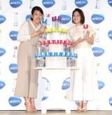 (左から)横澤夏子、筧美和子 (C)ORICON NewS inc.
