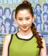 『第15回全日本国民的国民的美少女コンテスト』概要説明記者会見に出席した河北麻友子 (C)ORICON NewS inc.