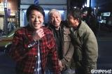 『ダウンタウンなう』に出演する(左から)坂上忍、松本人志、浜田雅功 (C)フジテレビ