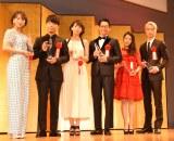 (左から)広瀬すず、星野源、波瑠、ディーン・フジオカ、高畑充希、坂口健太郎 (C)ORICON NewS inc.