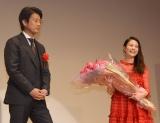 『第41回エランドール賞』授賞式に出席した(左から)唐沢寿明、高畑充希 (C)ORICON NewS inc.