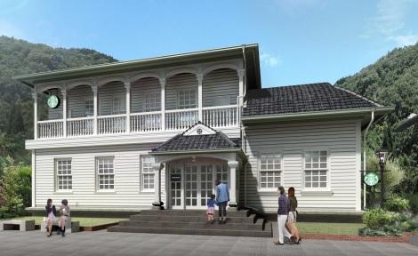3月29日に登録有形文化財3店舗目となる「スターバックス コーヒー 鹿児島仙巌園店」がオープン!