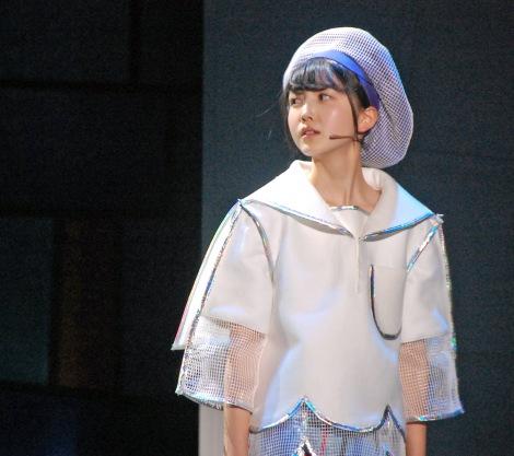 3期生初公演での久保史緒里