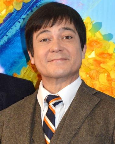 ミュージカル『ビッグ・フィッシュ』の初日前日囲み取材に出席した川平慈英 (C)ORICON NewS inc.