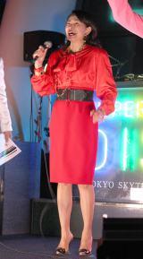 『SUPER SKYTREE DISCO』オープニングセレモニーに出席した田中美奈子 (C)ORICON NewS inc.