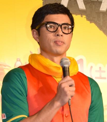 映画『レゴバットマン ザ・ムービー』の公開アフレコに出席した小島よしお (C)ORICON NewS inc.