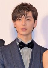映画『PとJK』の完成披露舞台あいさつに出席した高杉真宙 (C)ORICON NewS inc.