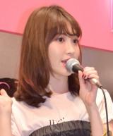 エビ中の松野莉奈さんを追悼したAKB48小嶋陽菜 (C)ORICON NewS inc.