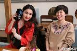 『ダウンタウンなう』出演する(左から)平野ノラ、ホラン千秋(C)フジテレビ