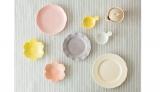 栗原はるみさんがプロデュースする生活雑貨ブランド「share with Kurihara harumi」の春色テーブルウェア