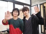 写真家・齋藤陽道(左)とタッグを組み、カレンダーを撮影した窪田正孝