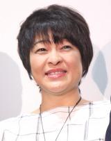 映画『ママ、ごはんまだ?』初日舞台あいさつに出席した河合美智子 (C)ORICON NewS inc.