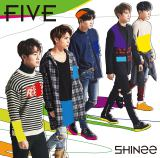 SHINeeの5thアルバム『FIVE』通常盤