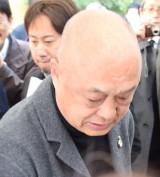 藤村俊二さん「献花の会」に参列した田山涼成 (C)ORICON NewS inc.