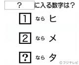 答えは2月14日放送、フジテレビ系『今夜はナゾトレ』 東大生&京大生が出題! ひらめきクイズ2時間SPで発表