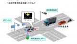 トヨタが行う「インフラ協調による安全運転支援システム」イメージ