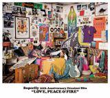 初のオールタイムベストアルバム『LOVE,PEACE & FIRE』通常盤