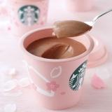 『チョコレートプリン』はピンクのカップがキュート