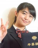 堀越高等学校卒業報告会見に出席した泉川美穂 (C)ORICON NewS inc.