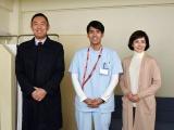 (左から)内藤剛志、K、沢口靖子(C)テレビ朝日